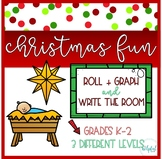 """Write the Room AND Roll + Graph ~ """"Nativity"""" theme"""