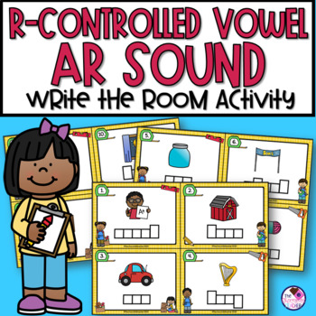 Write the Room AR R-Controlled Vowels
