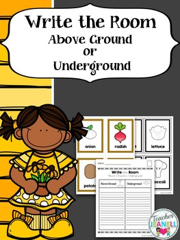 Above Ground and Underground Sort Write the Room
