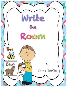 Write the Room Activities for Beginning Sounds, Blends, an