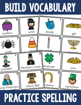 Write the Room Activity Pack - Holiday Sets