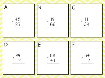 Write the Room: Adding with regrouping