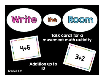 Write the Room Addition 1-10