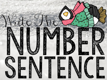 Write the Room: Addition And Subtraction Number Sentences