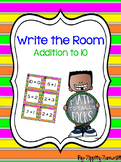 Write the Room - Addition to 10