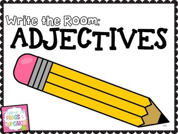 Write the Room: Adjectives