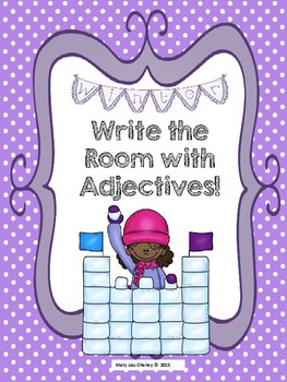 Write the Room Adjectives
