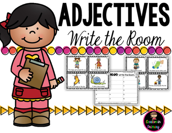 Adjectives Write the Room