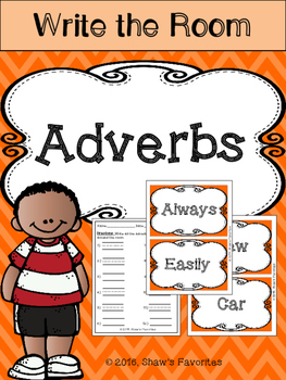 Write the Room {Adverbs}
