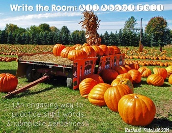 Write the Room: All About Fall