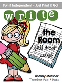 Write the Room {All Year Long}