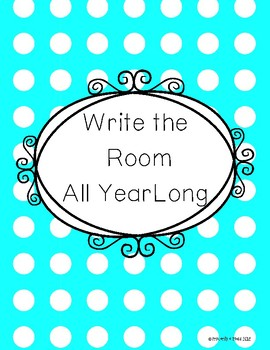 Write the Room All Year Long