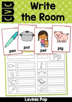 Write the Room - Alphabet