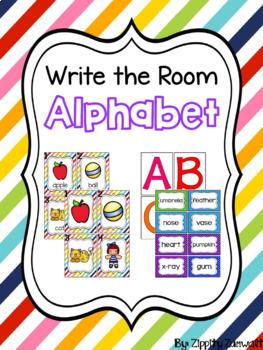 Write the Room - Alphabet **FREEBIE**