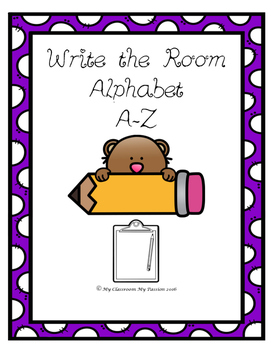 Write the Room Alphabet A-Z