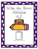 Write the Room Alphabet A-Z