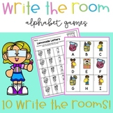 Write the Room {Alphabet Activities for Letter Recognition}