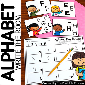 Write the Room {Alphabet Activities to Teach Letter Recognition}