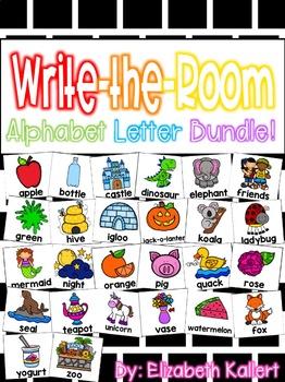 Write the Room: Alphabet Bundle