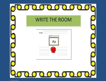 Write the Room Alphabet Center