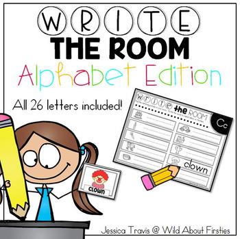 $2 DEAL - Write the Room - Alphabet Edition