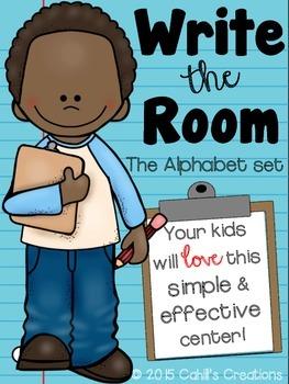 Write the Room - Alphabet Set