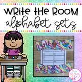 Write the Room-Alphabet Sets