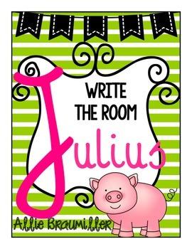 Write the Room: Amazing Words: Julius