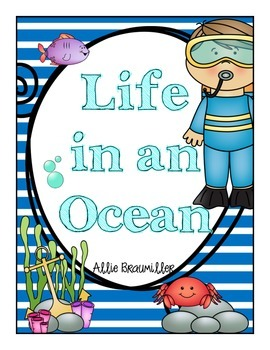Write the Room: Amazing Words: Life in an Ocean