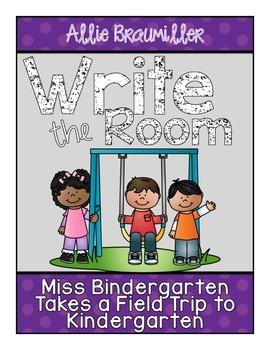 Write the Room: Amazing Words: Miss Bindergarten