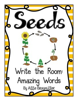 Write the Room: Amazing Words: Seeds