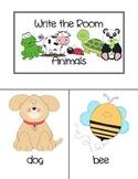 Write the Room: Animals