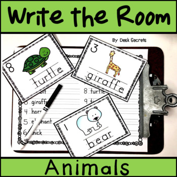 Write the Room Animals