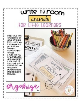 Write the Room: Animals for Little Learners