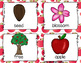 Apples Write the Room - - 16 cards four versions, four recording sheets