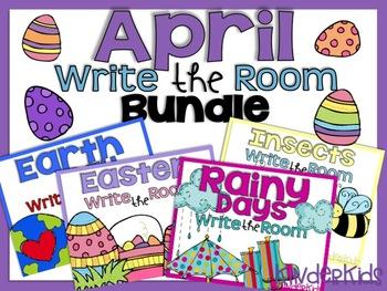 Write the Room {April Bundle}