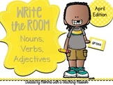 Write the Room : April Edition Nouns, Verbs, Adjectives
