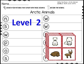 Write the Room Arctic Animals