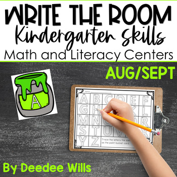 Write the Room K: Aug/Sept