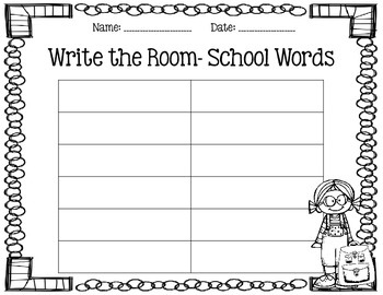 Write the Room- August
