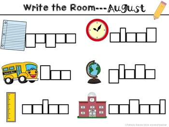 Write the Room-August