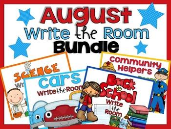 Write the Room {August Bundle}