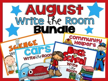 Write the Room {August Bundle}
