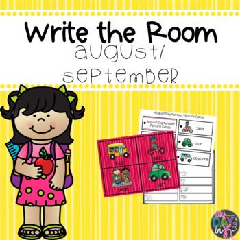 Write the Room August/September