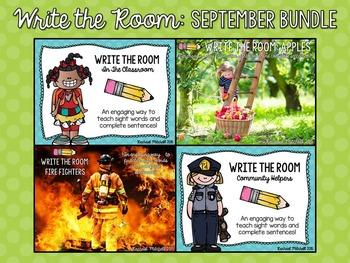 Write the Room: September Bundle