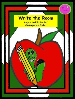 Write the Room August and September Kindergarten Packet