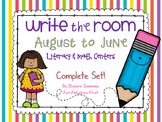 Write the Room August to June! Complete Set