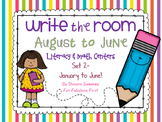 Write the Room August to June- Set 2 January through June