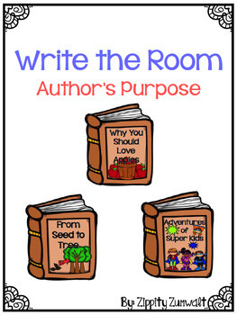 Write the Room - Author's Purpose