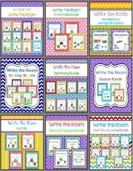 Write the Room - BIG Literacy Bundle